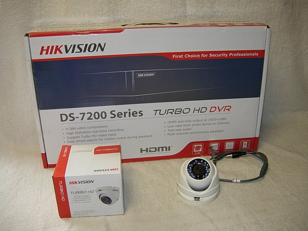 Image of hd cctv 4 camera bundle 2 2-TB